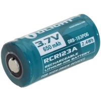 Olight - RCR123A 3.7V 650mAh Oplaadbare Batterij