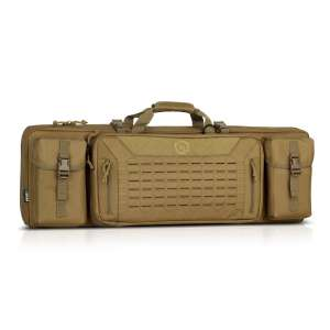 "Savior Equipment Urban Warfare 36"" - Double Rifle Bag - Tan"