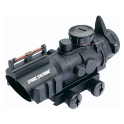 Strike Systems - 4x32 Scope w. red/green cross and fibreoptics