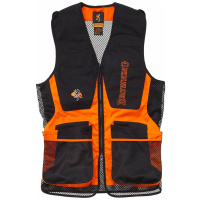 Browning Shooting Vest Claybuster Black Orange