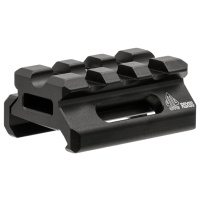 "UTG Sporting Type High-Profile Super Slim Full Size Riser Mount, 0.5"" High, 3 Slots"